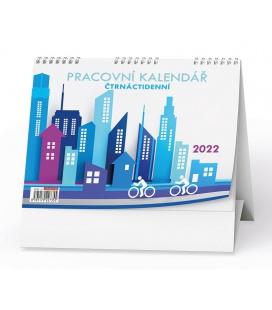 Table calendar Pracovní kalendář Čtrnáctidenní 2022