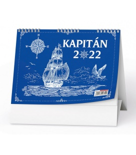 Table calendar Kapitán 2022
