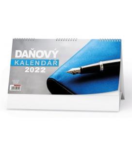 Table calendar Daňový kalendář 2022