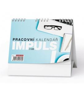 Table calendar Pracovní kalendář IMPULS I 2022