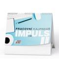 Table calendar Pracovní kalendář IMPULS II 2022