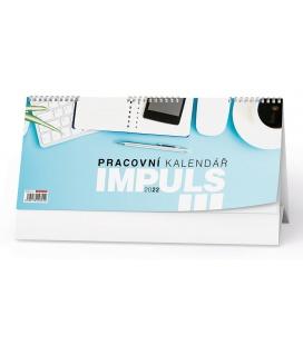 Table calendar Pracovní kalendář IMPULS III 2022