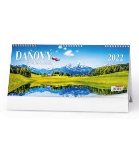 Table calendar Československý pracovní daňový kalendář - Příroda 2022