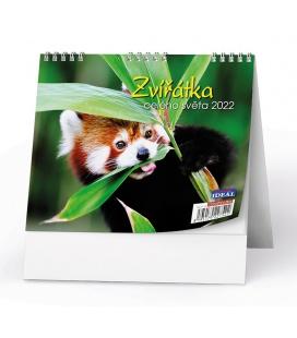 Table calendar IDEÁL - Zvířátka z celého světa 2022