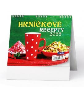 Table calendar IDEÁL - Hrníčkové recepty 2022