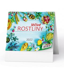 Table calendar IDEÁL - Léčivé rostliny 2022