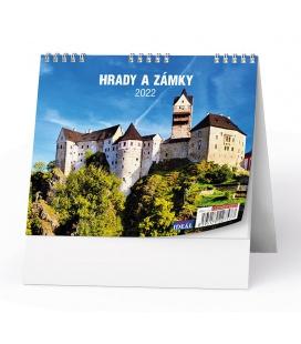 Table calendar IDEÁL - Hrady, zámky a památky 2022