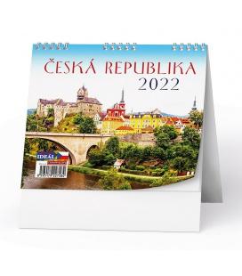 Table calendar IDEÁL - Česká republika 2022