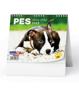 Table calendar IDEÁL - Pes - věrný přítel /s psími jmény/ 2022