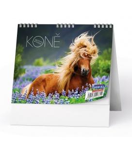 Table calendar IDEÁL - Koně 2022