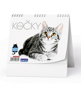 Table calendar IDEÁL - Kočky /s kočičími jmény/ 2022