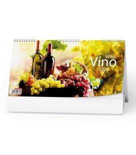 Table calendar Víno 2022