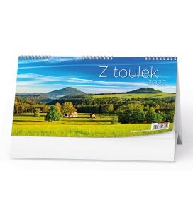 Table calendar Z toulek 2022