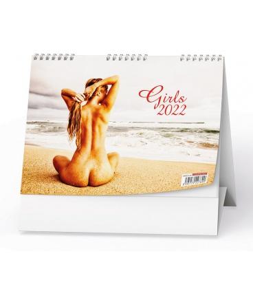 Table calendar Girls 2022