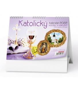 Table calendar Katolický kalendář /kostely a kapličky/ 2022