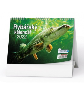 Table calendar Rybářský kalendář 2022