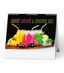 Table calendar Zdravé snídaně + smoothie 2022