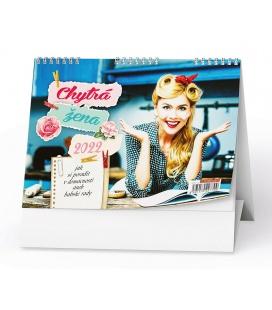 Table calendar Chytrá žena 2022