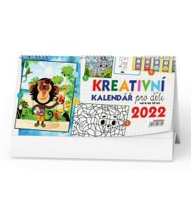 Table calendar Kreativní kalendář pro děti 2022