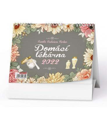 Table calendar Domácí lékárna (Renata Raduševa Herber)  2022