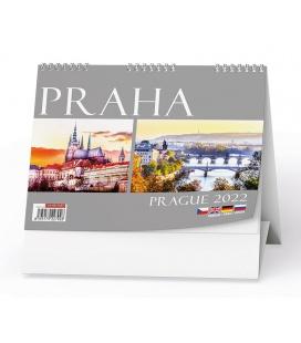Table calendar Praha 2022