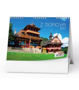 Table calendar Z domova 2022
