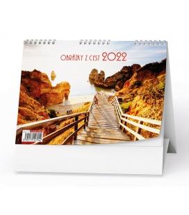 Table calendar Obrázky z cest  2022