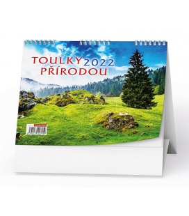 Table calendar Toulky přírodou 2022