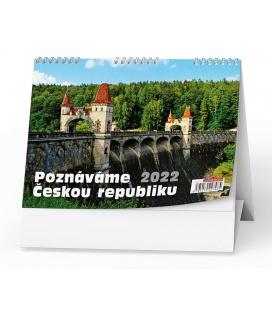Table calendar Poznáváme Českou republiku 2022