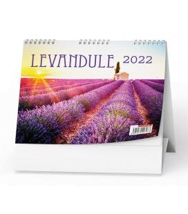 Table calendar Levandule  2022
