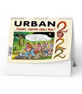 Table calendar Urban 2022 - …Pivrnec lajnuje celej rok  2022