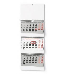 Wall calendar Tříměsíční - skládaný (s mezinárodními svátky)  2022