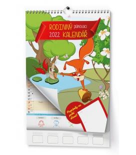 Wall calendar Rodinný - A3 2022