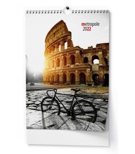 Wall calendar Metropole - A3 2022