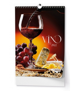 Wall calendar Víno - A3 2022