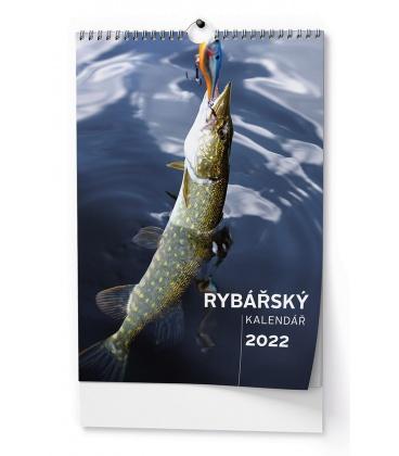 Wall calendar Rybářský kalendář - A3 2022