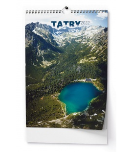 Wall calendar Tatry - A3 2022