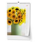 Wall calendar Květiny - A3 2022