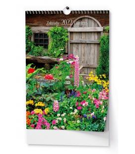 Wall calendar Zahrady - A3 2022