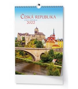 Wall calendar Česká republika - A3 2022