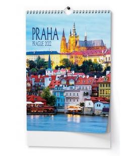 Wall calendar Praha - A3 2022