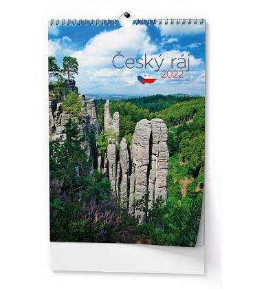 Wall calendar Český ráj - A3 2022