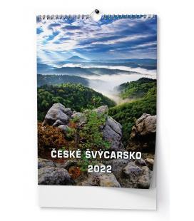 Wall calendar České Švýcarsko - A3 2022