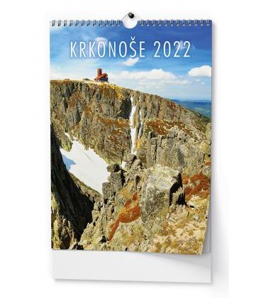 Wall calendar Krkonoše - A3 2022