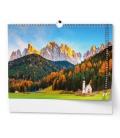 Wall calendar Toulky přírodou - A3 2022