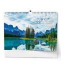 Wall calendar Světové národní parky - A3 2022