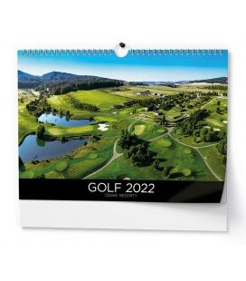 Wall calendar Golf - A3 2022