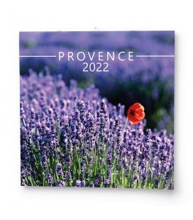Wall calendar note  Provence 2022