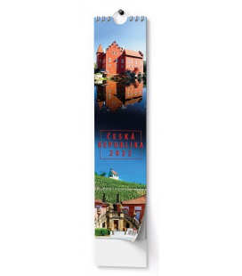 Wall calendar Kravata - Česká republika - vázanka 2022
