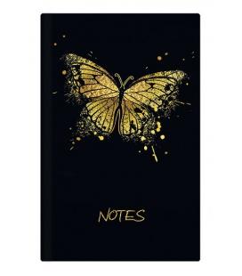 Notepad lined - A5 - lamino - Motýl 2022